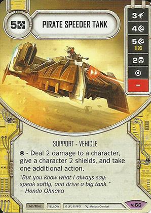 Pirate Speeder Tank
