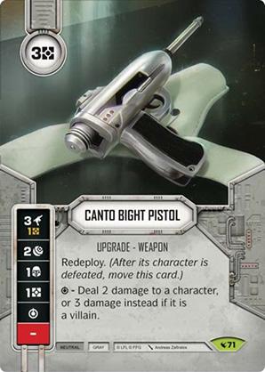 Canto Bight Pistol