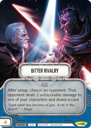 Bitter Rivalry