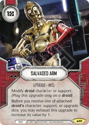 Salvaged Arm