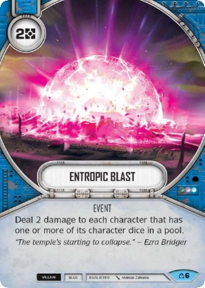 Entropic Blast
