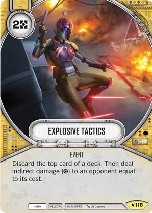 Explosive Tactics